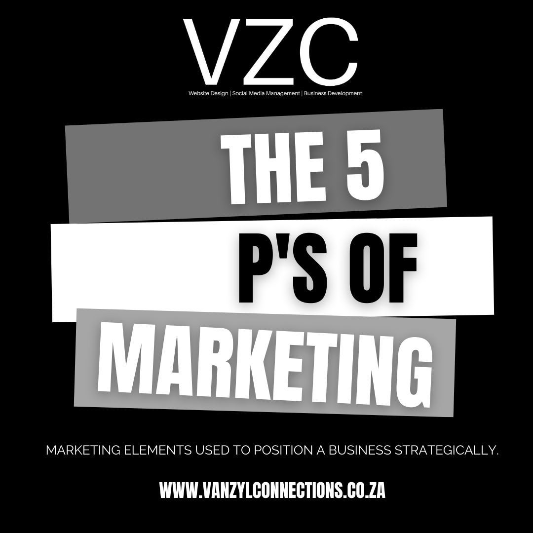 Read more about the article The 5 P's of Marketing